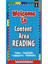 Welcome to Content Area Reading A(SB+CD)
