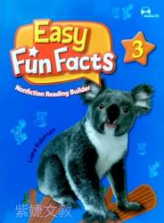 Easy Fun Facts (3) Student book with Workbook and Audio CD/片