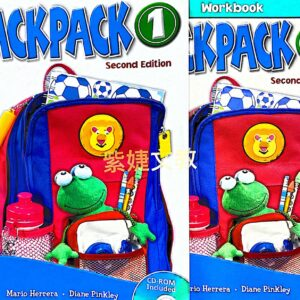 Backpack (1) 2/e Student Book with CD/1片